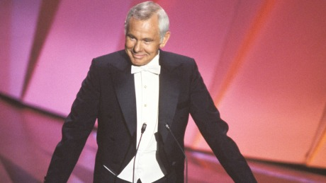 Johnny Carson hosting for his fifth and final time.