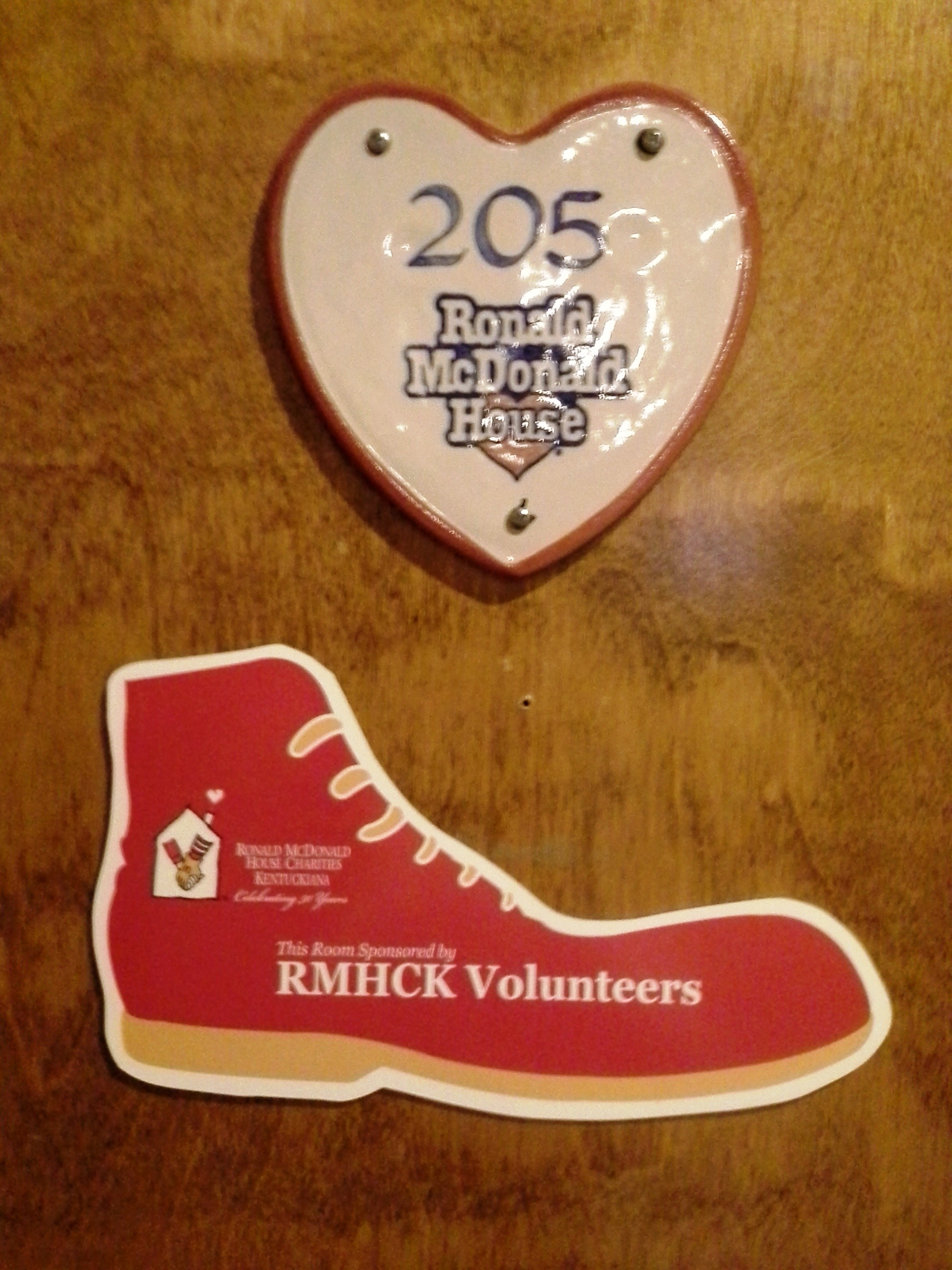 shoe plaque